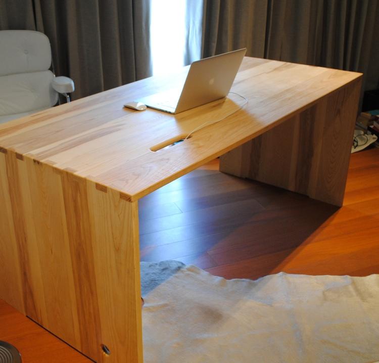 Ash Wood Desk