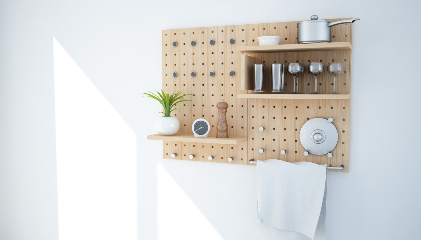 Modular Solid Wood Shelf System